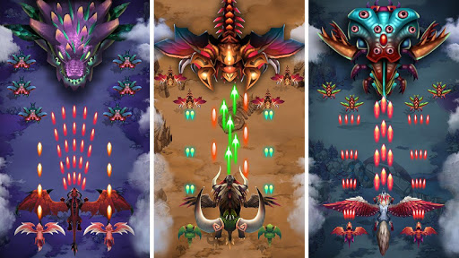 Dragon shooter - Dragon war - Arcade shooting game