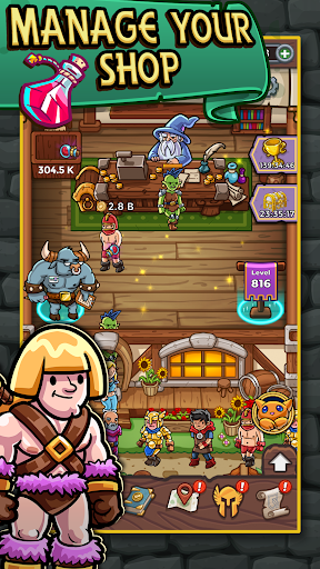 Dungeon Shop Tycoon: Craft, Idle, Profit! ⚔️💰🧙