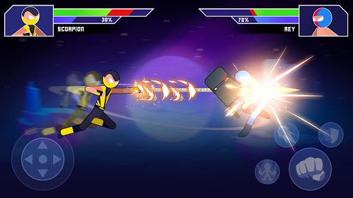 Galaxy of Stick: Super Champions Hero
