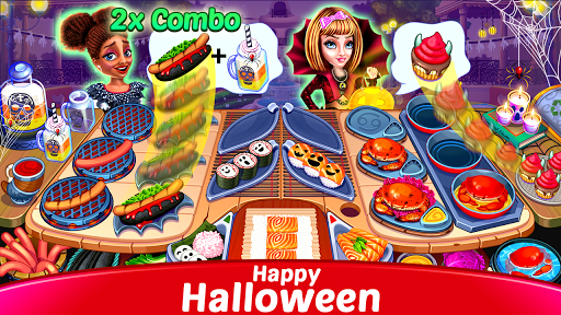 Halloween Cooking: Chef Madness Fever Games Craze