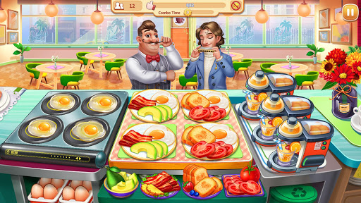 My Restaurant: Crazy Cooking Madness Game