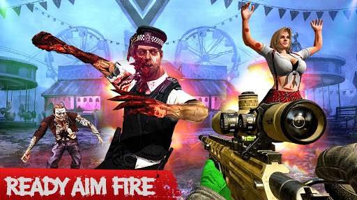 Real zombie hunter - FPS Sniper shooting Game