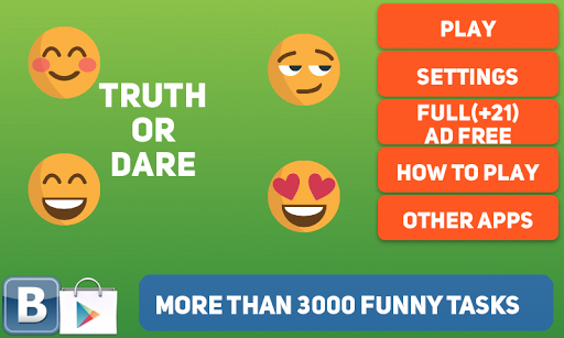 Truth or Dare — Dirty Party Game for Adults 18+