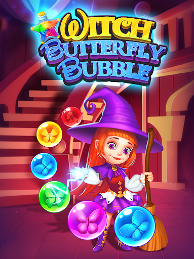Witch Butterfly Bubble