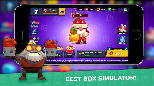 Lemon Box Simulator for Brawl stars