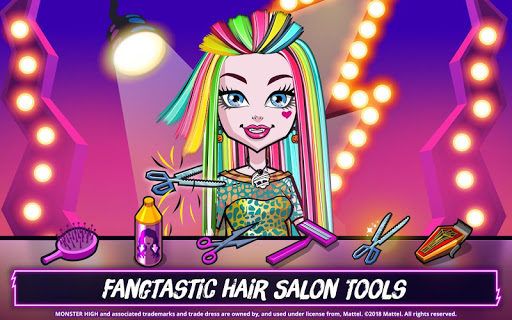 Monster High ™ Beauty Shop: Fangtastisches Modespiel