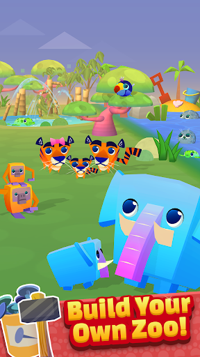 Spin a Zoo - Tap, Click, Idle Animal Rescue Game!