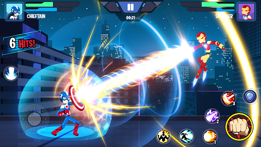 Stickman Superhero - Super Stick Heroes Fight