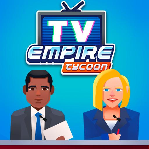 TV Empire Tycoon – Idle Management Game v0.9.2 (Mod Apk Money) logo