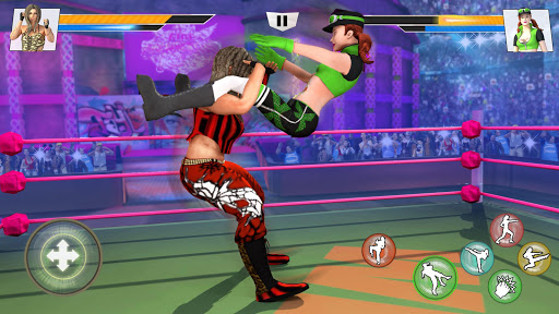 Bad Girls Wrestling Fighter: Women Fighting Games