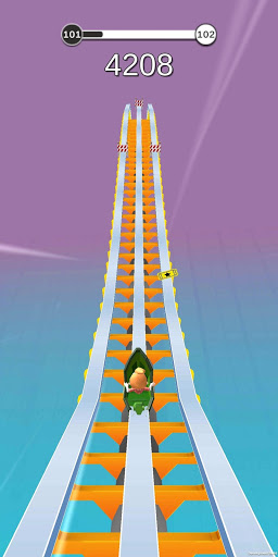 Coaster Rush: Addicting Endless Runner Games
