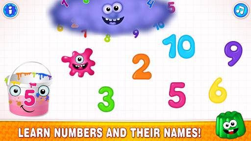 Learning numbers for kids! 123 Counting Games!