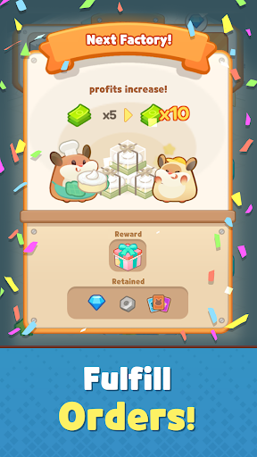 My Factory Cake Tycoon - idle games