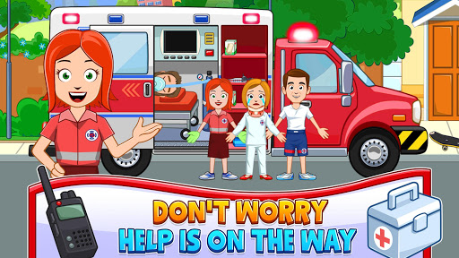 My Town : Fireman & Fire Station Story Game