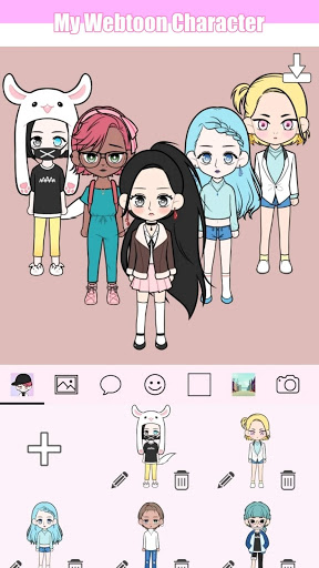 My Webtoon Character - K-pop IDOL avatar maker