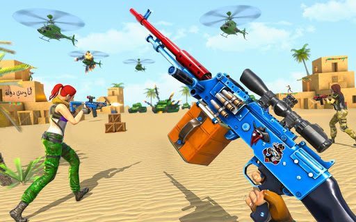 Real Commando Shooting Strike - Fps Shooting Games