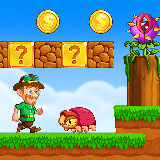 Super Jake's Adventure – Jump & Run! v1.8.6 (Mod Apk Money) logo