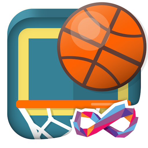 Basketball FRVR – Shoot the Hoop and Slam Dunk! v2.7.4 (Mod Apk) logo