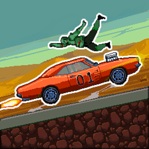 Drive or Die - Zombie Pixel Earn to Epic Racing