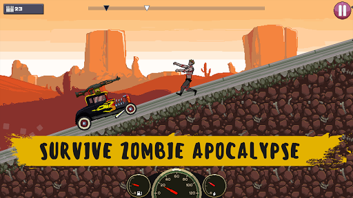 Drive or Die🧟 - Zombie Pixel Earn to Epic Racing