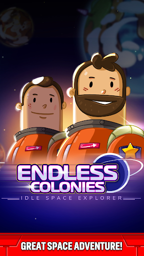 Colonies infinies: Idle Space Explorer