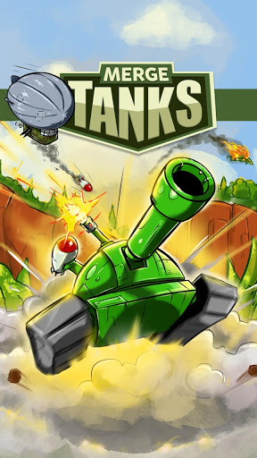 Merge Tanks: Funny Spider Tank Awesome Merger