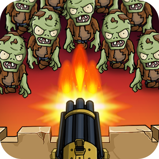 Zombie War: Idle Defense Game v33 (Mod Apk Money) logo