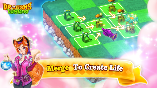 Dragons Legend - Merge and Build Game
