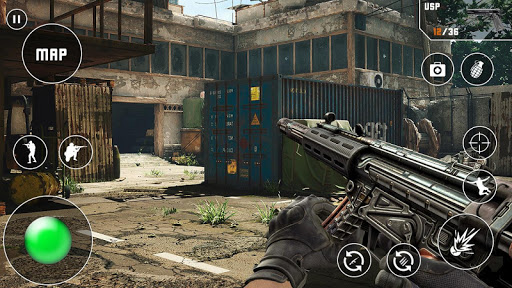 Fps Critical Action Strike: Counter Terrorist Game