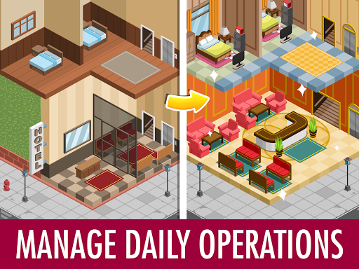 Hotel Tycoon Empire - Idle Manager Simulator Games
