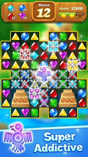 Jewel & Gems Mania 2020 - Match à Temple & Jungle