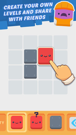 Mr. Square - Create and solve puzzles!