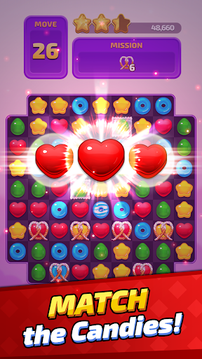 Sugar Land - Sweet Match 3 Puzzle