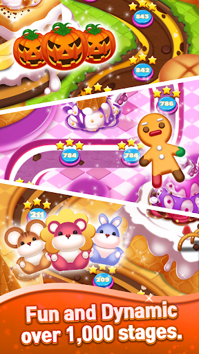 Sweet Cookie Crush: Puzzle Match 3