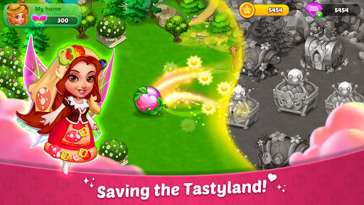 Tastyland- Merge 2048, cooking games, puzzle games