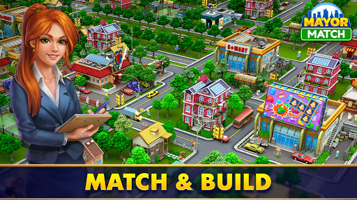 Mayor Match: Town Building Tycoon & Match-3 Puzzle