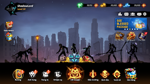 Shadow Lord: Solo Leveling