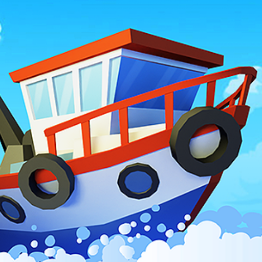 Fish idle: hooked tycoon. Your own fishing boat v4.0.2 (Mod Apk) logo