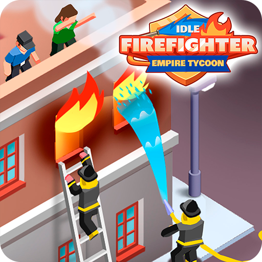 Idle Firefighter Empire Tycoon - Management Game