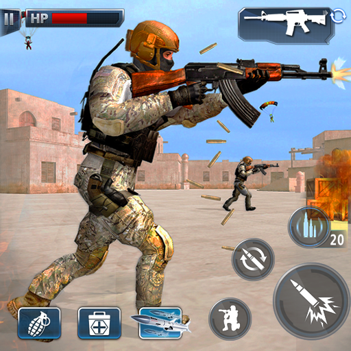 Special Ops 2021: Multiplayer Shooting Games 3D