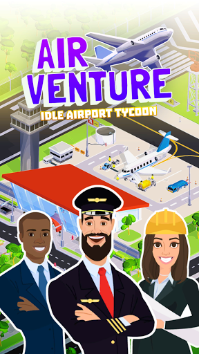 Air Venture - Idle Airport Tycoon ✈️
