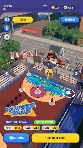 Basketball Legends Tycoon - Idle Sports Manager