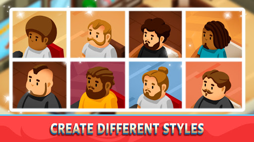 Idle Barber Shop Tycoon - Business Management Game