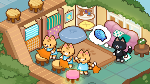 Idle Cat Tycoon : Furniture Craft Shop