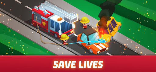Idle Firefighter Tycoon - Fire Emergency Manager