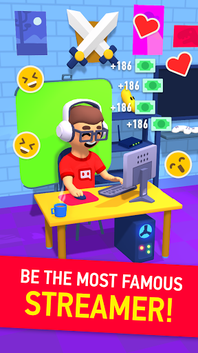 Idle Streamer tycoon - Tuber game