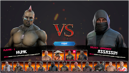 Kung Fu Madness Street Battle Attack Fighting Game