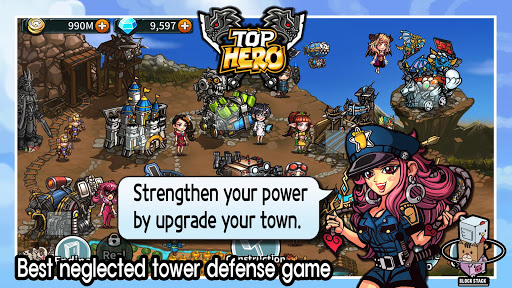 Top Hero - Tower Defense