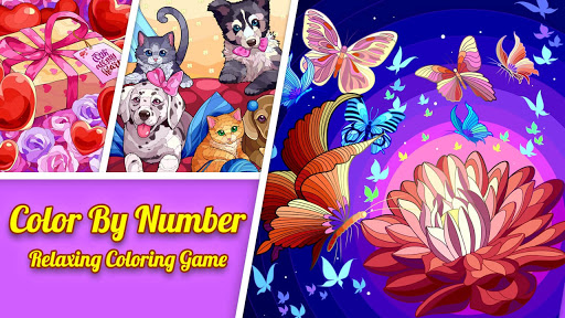 Tap Color Lite : Color by Number. Coloring Games