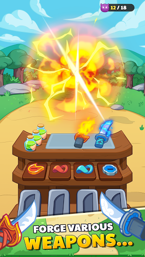 Forge Hero: Epic Cooking Adventure Game
